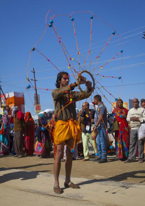 Parade In The Street, Maha Kumbh Mela, Allahabad, India
