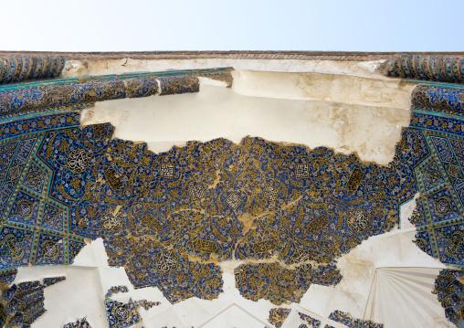 The Blue Mosque Ceiling, Tabriz, Iran