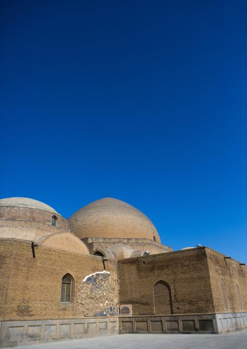 The blue mosque, Tabriz, Iran