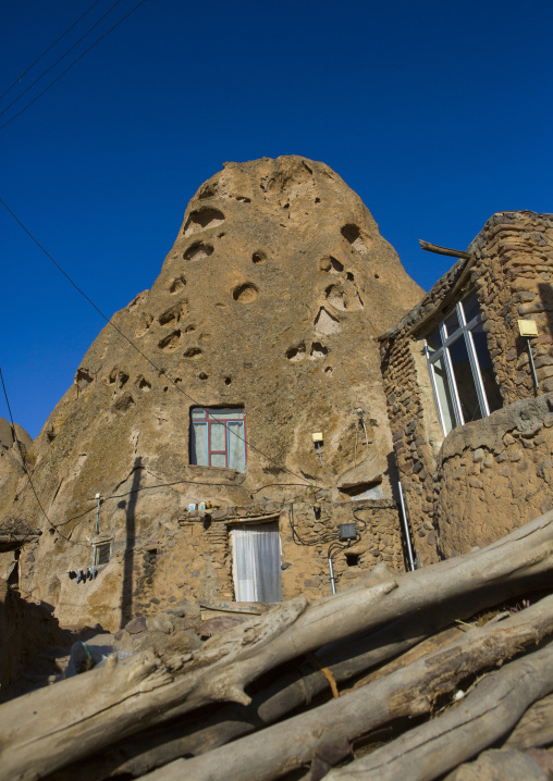Carved Home In The Village Of Kandovan, Iran