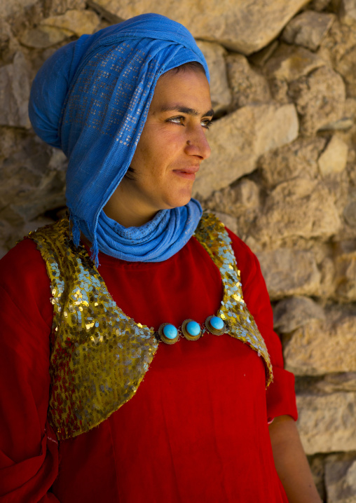 Kurdish Young Woman, Palangan, Iran