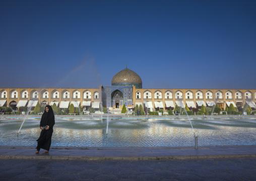 Naghsh-i jahan square and lotfollah mosque, Isfahan province, Isfahan, Iran