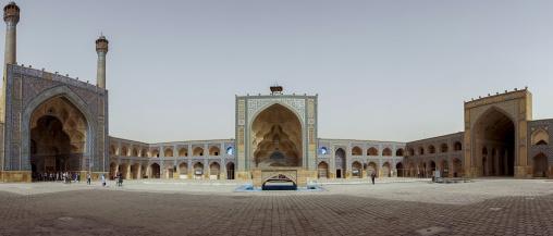 Friday mosque panorama, Isfahan province, Isfahan, Iran