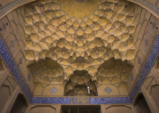 Friday mosque ceiling, Isfahan province, Isfahan, Iran