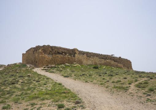 The tall-e takht citadel, Fars province, Pasargadae, Iran