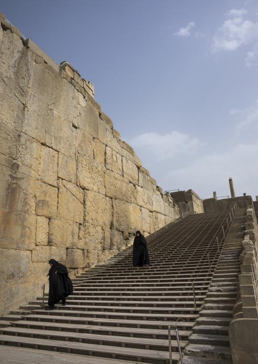 Entrance stairs, Fars province, Persepolis, Iran
