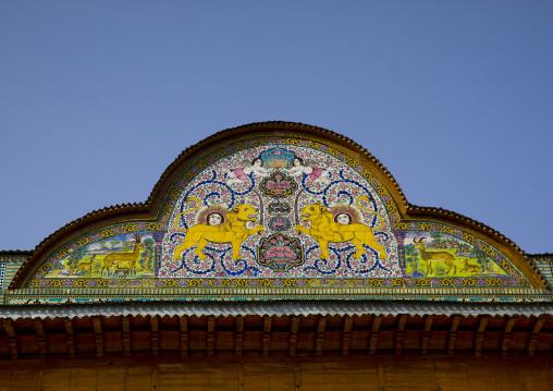 Zinat of narenjestan house, Fars province, Shiraz, Iran
