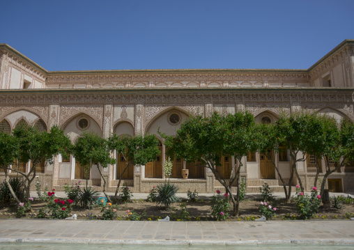 Manouchehri heritage house, Isfahan province, Kashan, Iran