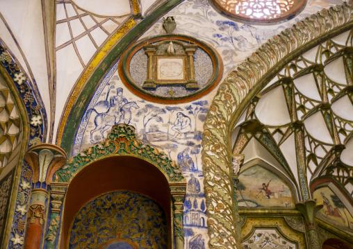 The boroujerdi house, Isfahan province, Kashan, Iran