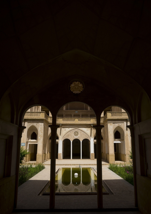 Abbasian historical house, Isfahan province, Kashan, Iran