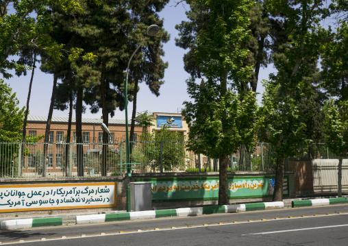 Former united states embassy, Shemiranat county, Tehran, Iran