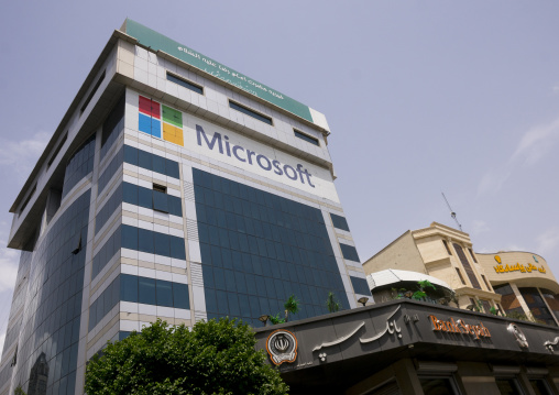 An office building occupied by microsoft, Shemiranat county, Tehran, Iran