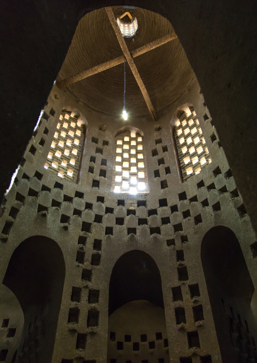 Old dovecote for pigeons, Isfahan province, Isfahan, Iran