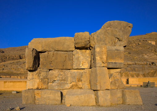 The unfinished gate in persepolis, Fars province, Marvdasht, Iran