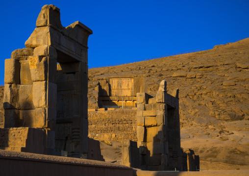 The site of persepolis, Fars province, Marvdasht, Iran