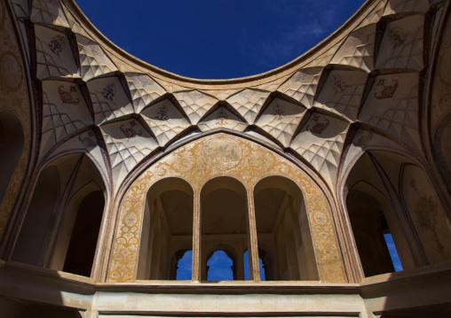 Tabatabaei historical house ceiling, Isfahan province, Kashan, Iran