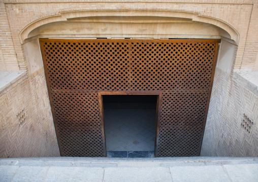 The basement of the Borujerdi house, Isfahan Province, Kashan, Iran