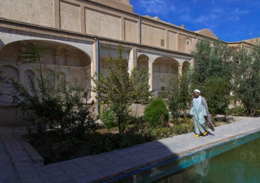 A Mullah in Boroujerdi historical house, Isfahan Province, Kashan, Iran