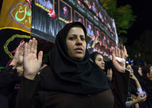 Iranian shiite muslim women during Muharram, Lorestan Province, Khorramabad, Iran