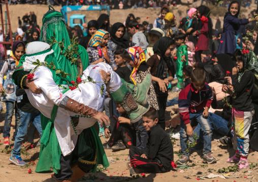 Death of Qasim ibn al-Hasan in Kerbala during a traditional religious theatre called tazieh, Lorestan Province, Khorramabad, Iran