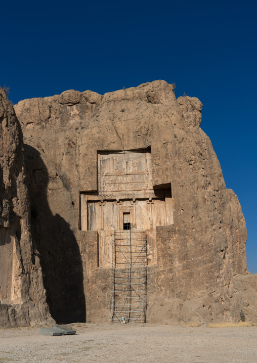Achaemenian royal tombs in Naqsh-e Rustam necropolis, Fars Province, Shiraz, Iran