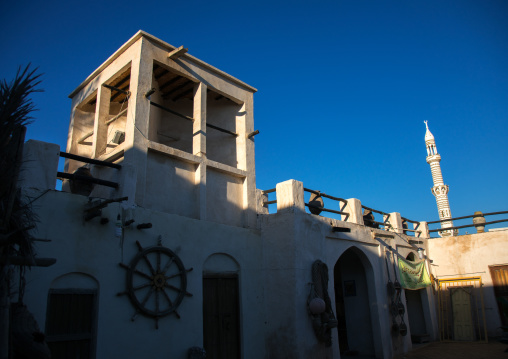 old sailor house turned into a museum, Hormozgan, Bandar-e Kong, Iran