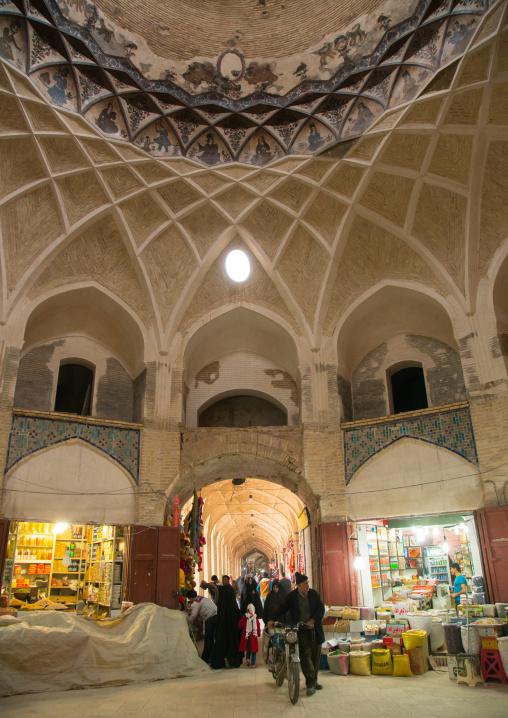 Bazaar on ganjali khan square, Central county, Kerman, Iran