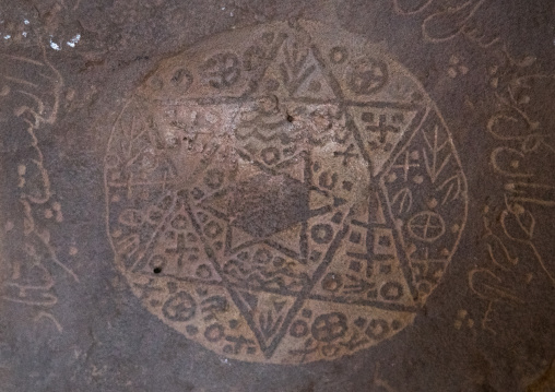 Gombab-e jabaliye zoroastrian fire temple jewish stone, Central county, Kerman, Iran