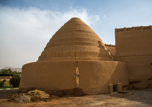 water reservoir in iranian traditional architecture, Central County, Kerman, Iran