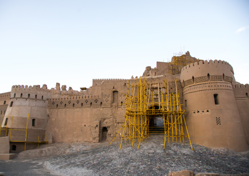 Restoration of the old citadel of arg-é bam, Kerman province, Bam, Iran