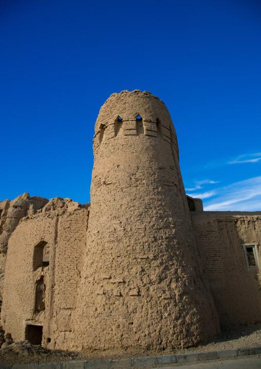 Old citadel tower, Ardakan county, Aqda, Iran