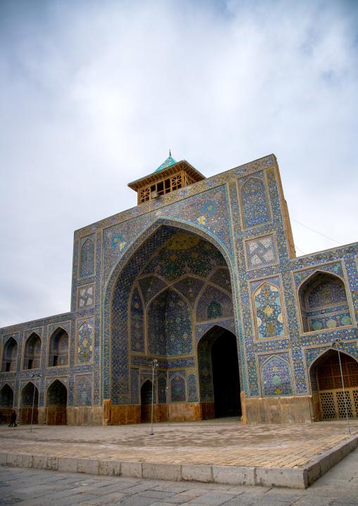 Iwan at jameh masjid or friday mosque, Isfahan province, Isfahan, Iran