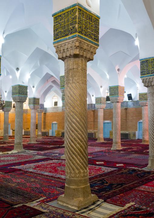 Dar Ol Ehsan Mosque Columns, Sanandaj, Iran
