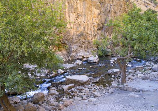 River Near The Old Kurdish Village Of Palangan, Iran