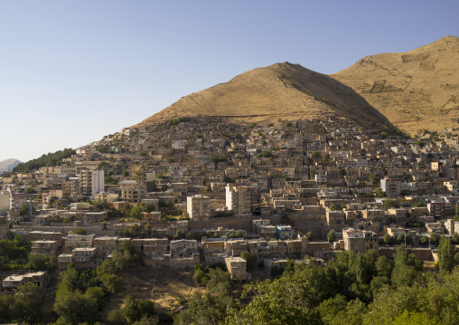 Paveh Old Town On The Hill, Iran