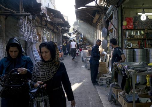 People In The Bazaar, Kermanshah, Iran