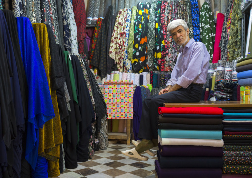 Clothes Bazaar, Kermanshah, Iran