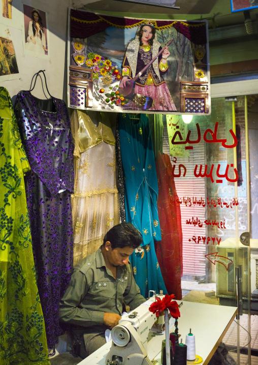 Taylor In The Bazaar, Kermanshah, Iran