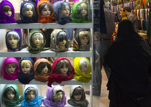 Headscarves In The Bazaar, Kermanshah, Iran