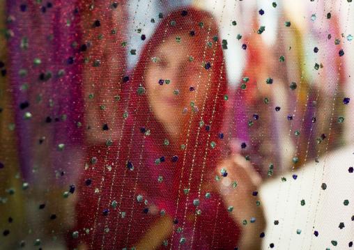 Women Hiding Behind A Veil, Kermanshah, Iran