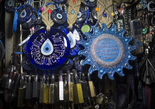 Evil Eyes In The Bazaar, Kermanshah, Iran