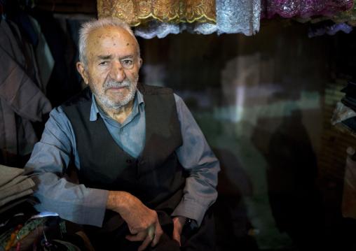 Old Man In The Bazaar, Kermanshah, Iran
