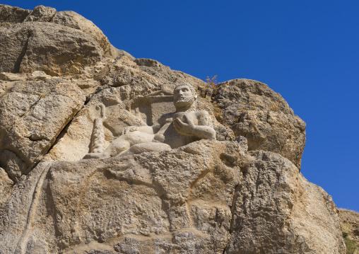 The Seleucid Figure Of Heracles, Bisotun, Iran
