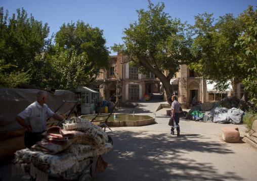 Courtyard Inside The Old Bazaar, Tabriz, Iran
