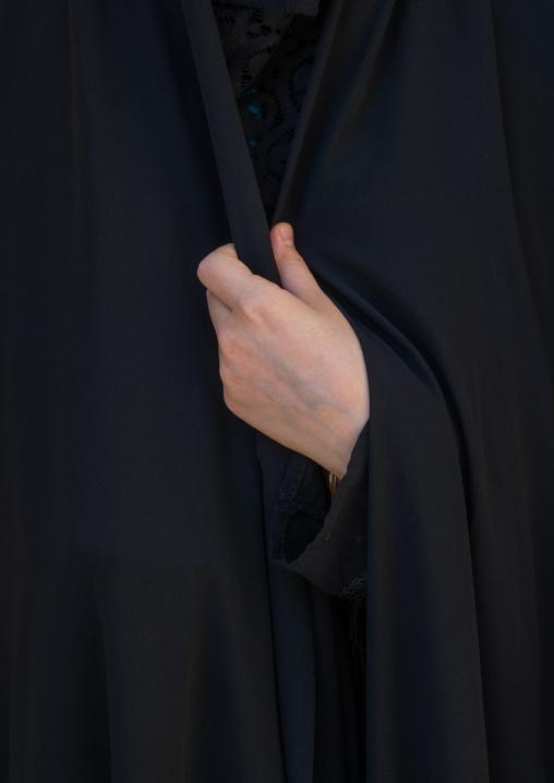 An Iranian Shiite Woman Hand During The Chehel Manbar Ceremony One Day Before Ashura, Lorestan Province, Khorramabad, Iran