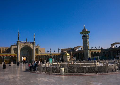 Fatima Al-masumeh Shrine, Central County, Qom, Iran