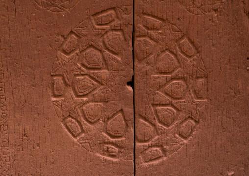 Ancient Door In Zoroastrian Village, Isfahan Province, Abyaneh, Iran
