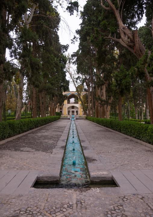 Shotor Galou-e-shah Abbasi In Fin Garden, Isfahan Province, Kashan, Iran