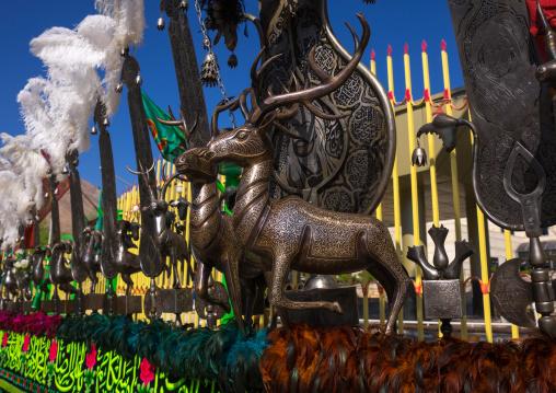 Detail Of An Alam On Tasua Celebration, Lorestan Province, Khorramabad, Iran