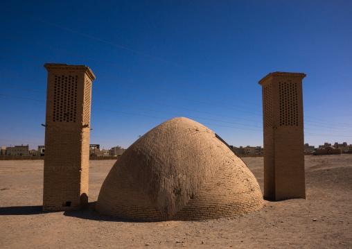 Zoroastrian Old Wind Cooled Water Reservoir, Yazd Province, Yazd, Iran